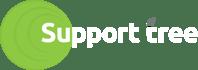 Support Tree Logo - Green